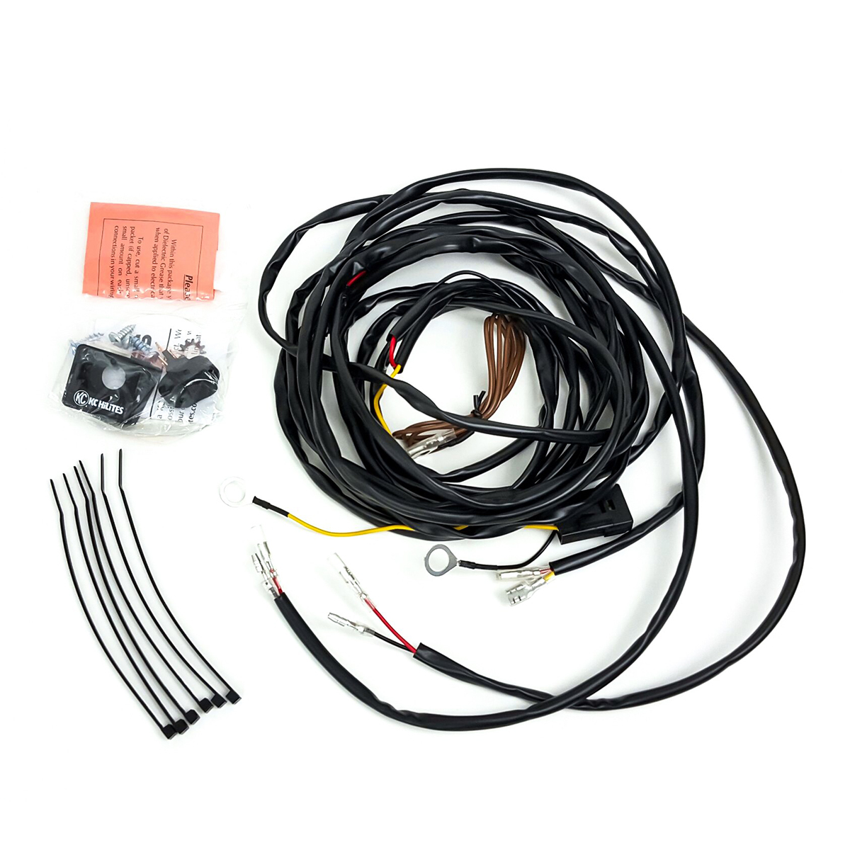 wire harness for 2 cyclone lights  u2013 desolate motorsports