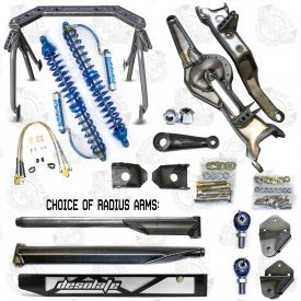 Desolate Motorsports Bronco 80-96 Stage 4 Front Long Travel Kit (Extended Width)