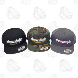 Desolate Motorsports Snapback Hat