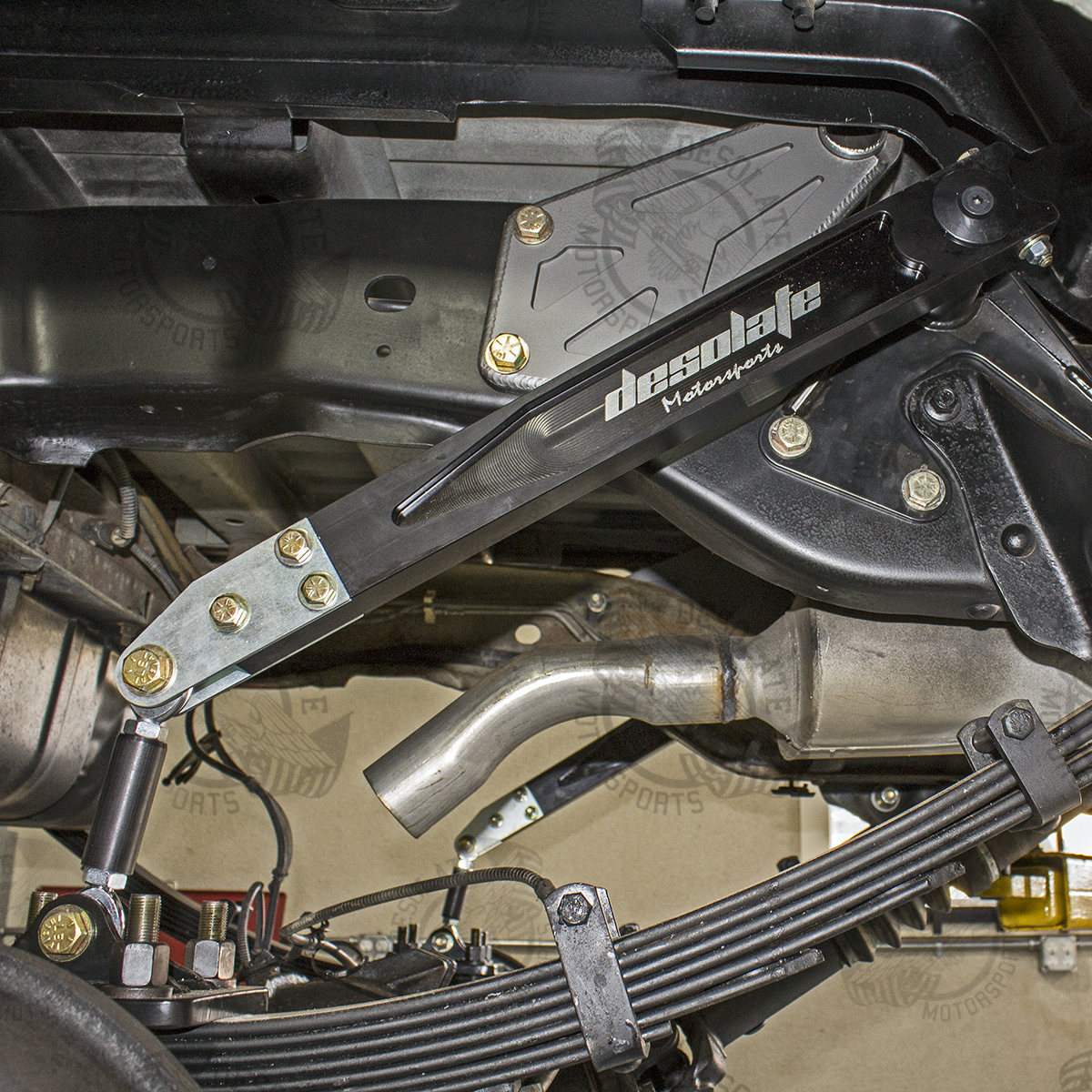 You Can Add The Stabilizer Bar For An Additional 79: Bronco Rear Sway Bar Kit