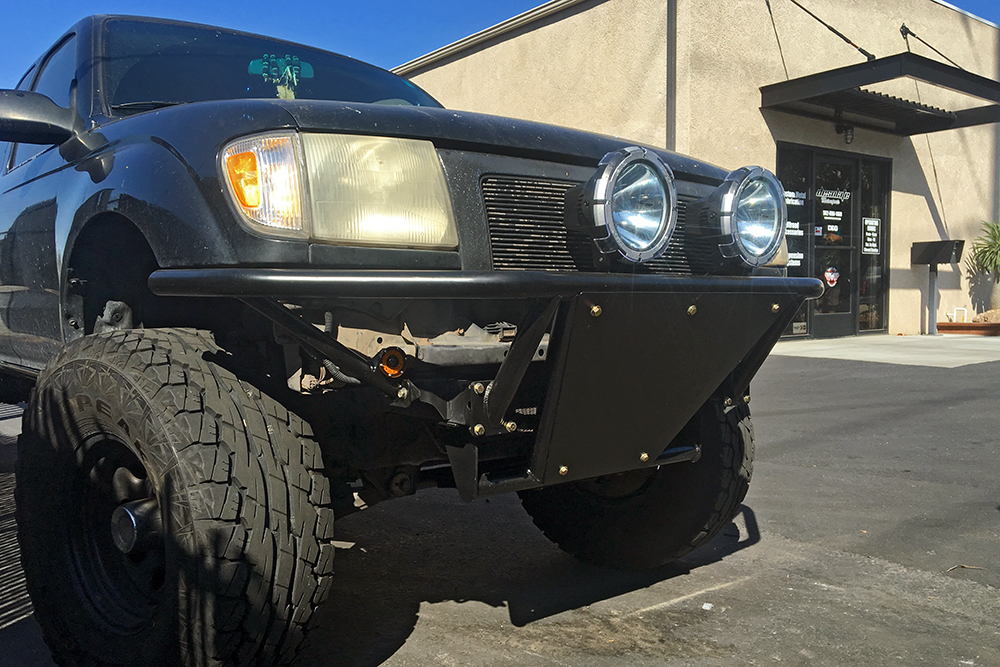 Whether youre looking for a prerunner style tube bumper a cargo overlander bumper or something a little more factory and subtle our experienced team can