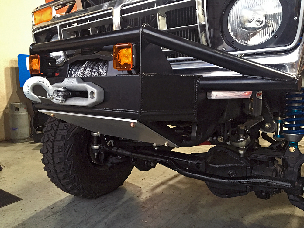 Custom built bumpers whether